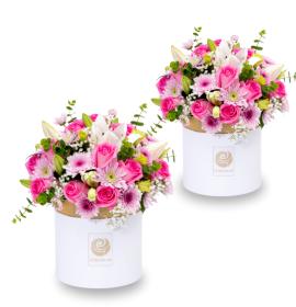PARIS- Ravishing Mixed Flower Box - Combo